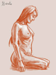 30 minutes figure drawing by CDrice