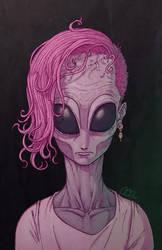 Alien portrait 3