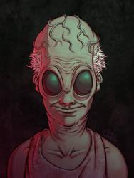 Alien portrait 4