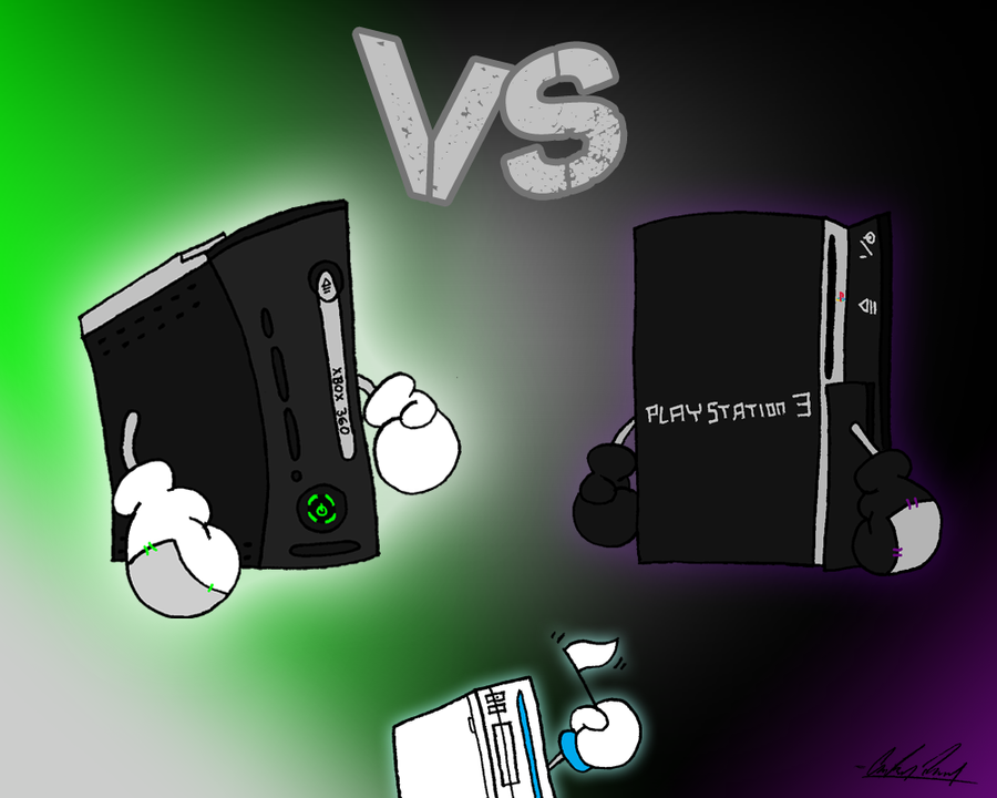 Xbox Vs Playstation 2012