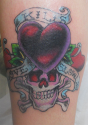Tattoo Cover Up Ed Hardy Style by Frayna77