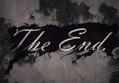 The End Sign by TheCircusHorrifica