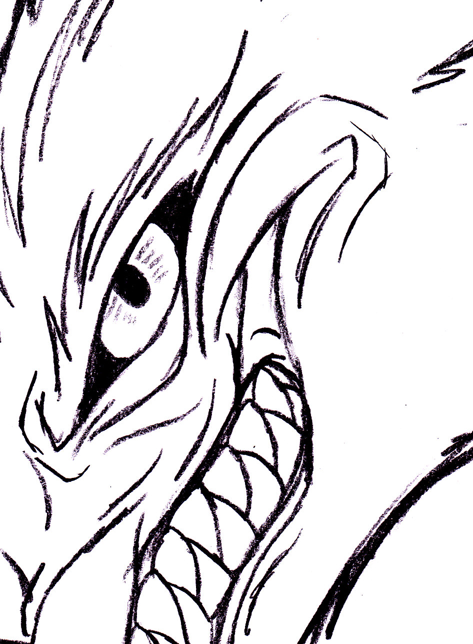 Evil Wolf Smile by YamiShadowZero on DeviantArt