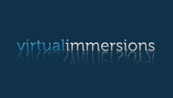 Virtual Immersions Logo by mstdesignstudios