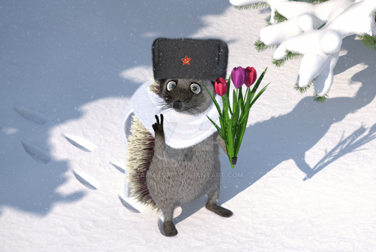 soviet hedgehog by armas777
