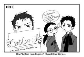 SEND COFFEE by creatingmyths