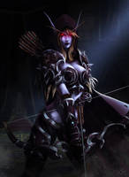 Sylvanas Windrunner, The Dark Lady by Maltheras