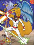Birdman, Avenger, Space Ghost and Bleep