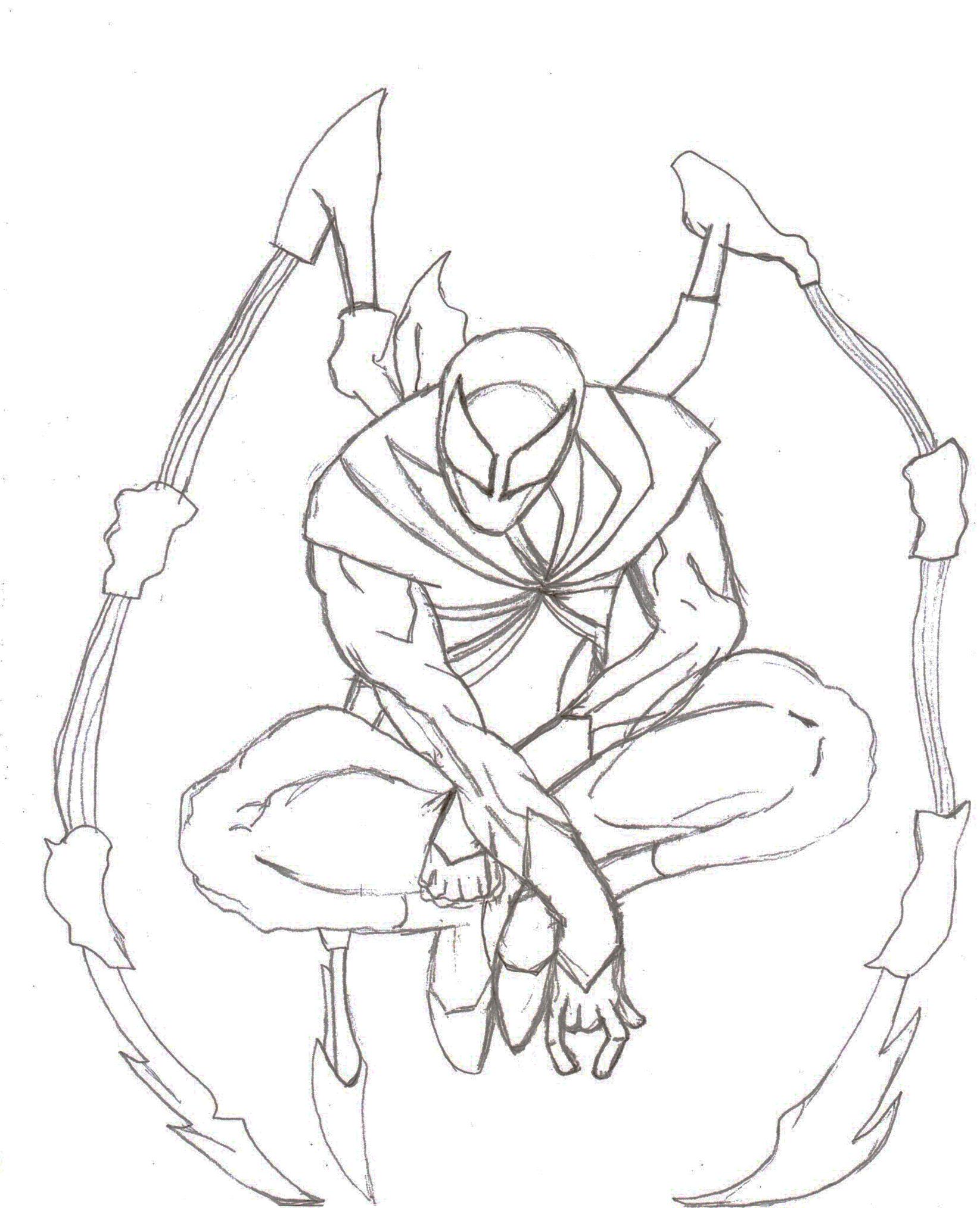 The Iron Spider by ShahzadX on DeviantArt