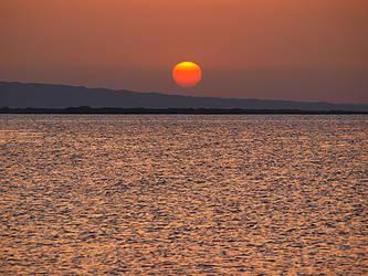 Sunrise in Egypt by Dobina