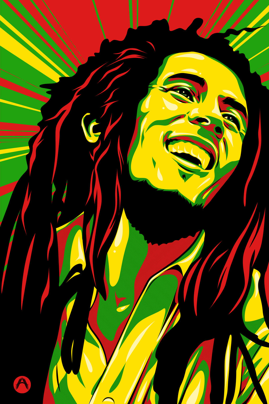 Bob Marley By Silverhornet29 On DeviantArt