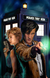 Doctor Who by SBraithwaite