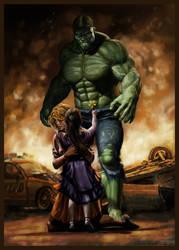 hulk by SBraithwaite
