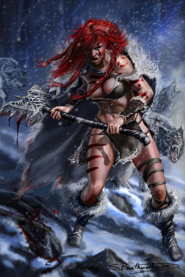 Red Sonja by SBraithwaite