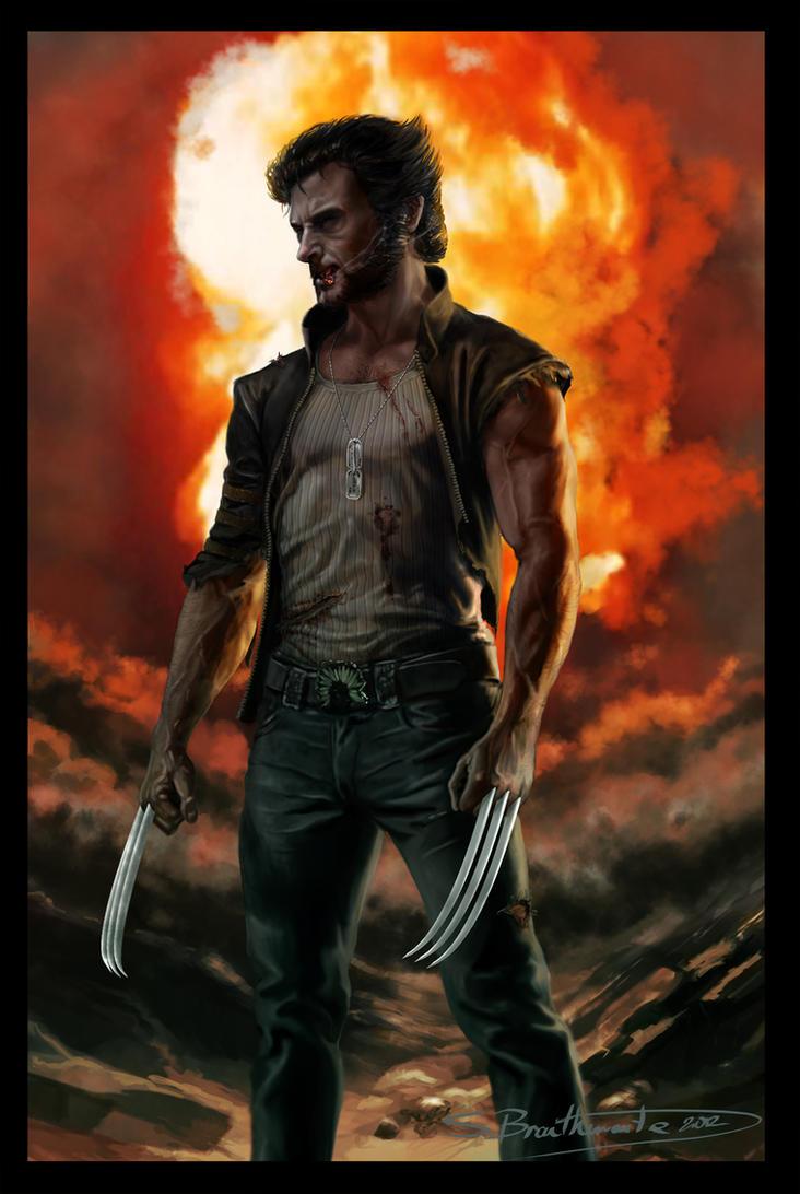 Wolverine by SBraithwaite
