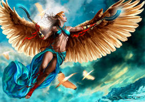 Flight of the Ibis by SBraithwaite