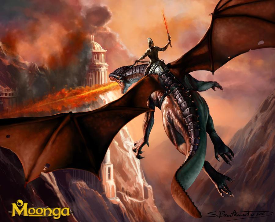 Dragonrider by SBraithwaite