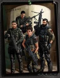 Elkhound 1 Team by SBraithwaite