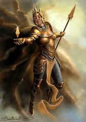 Goddess of light by SBraithwaite