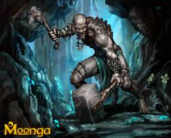 Berseker Troll by SBraithwaite