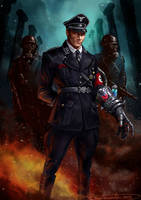 Super Soldier Nazi General by SBraithwaite