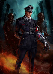 Super Soldier Nazi General