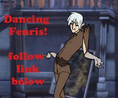 Dancing Fenris by Piasdatter