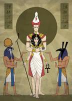 Pharaoh Sesshoumaru by Piasdatter