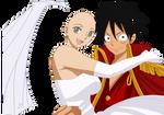 Luffy Wedding Base