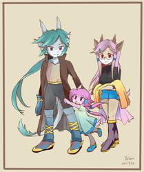 Lilac Family 02 by nikoyosan