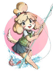 Isabelle shizue by nikoyosan