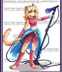 Tina the cheetah