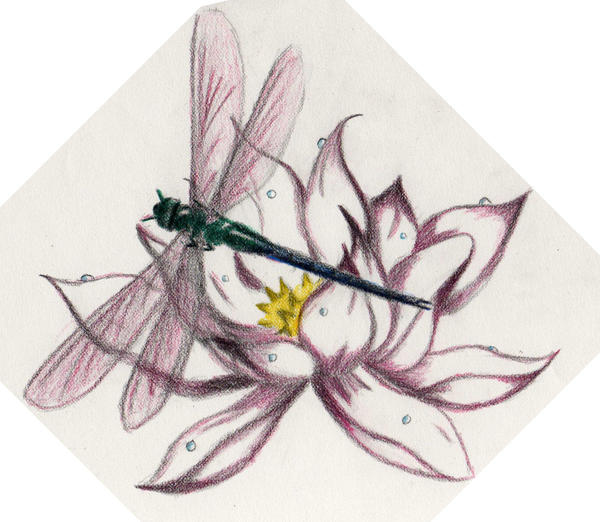 New Flesh Art - dragonfly tattoo