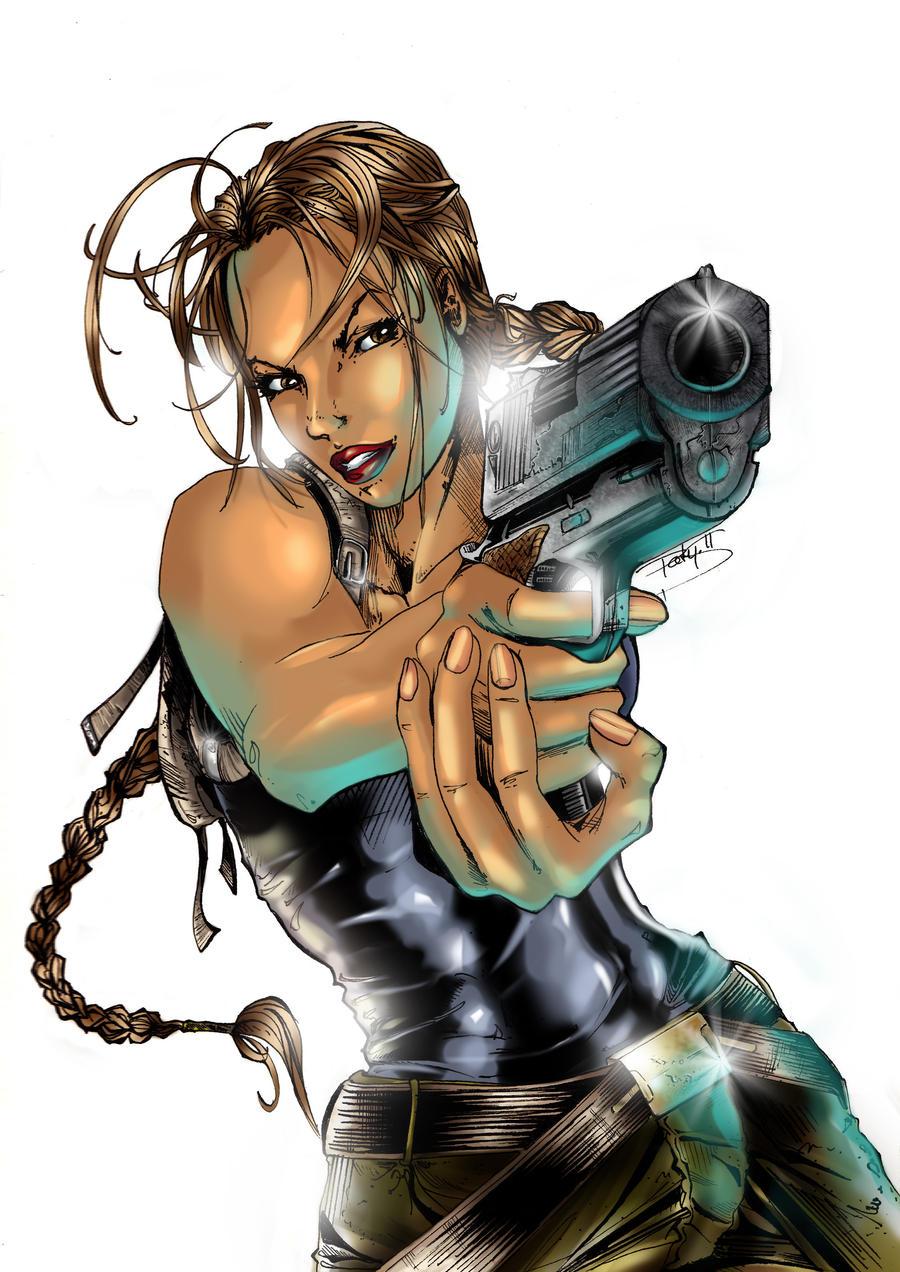 Lara Croft by Skrzynska
