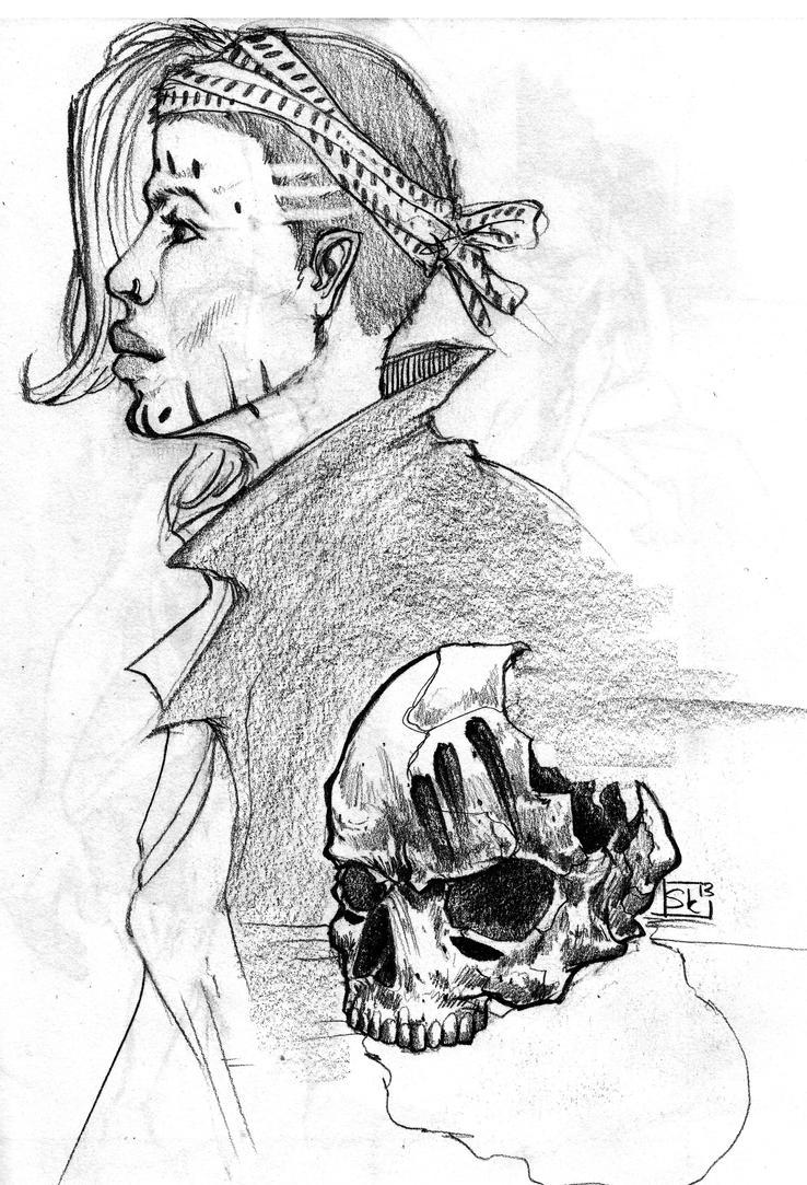 Voodoo Skull Drawing Voodoo skullVoodoo Skull Drawing