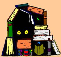Hiding in Books by RetSamys