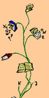 Book tree by RetSamys