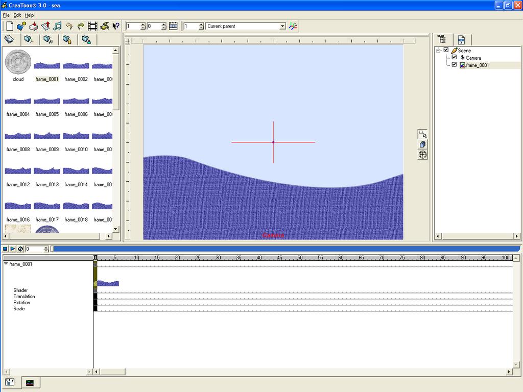 Open Ocean animation tutorial (CreaToon, GIMP) by RetSamys