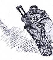 [D54] Travelling Bag by RetSamys