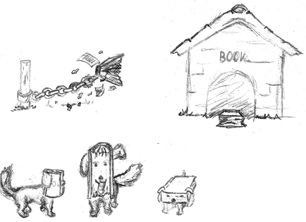 Bookified Dogs sketchdump by RetSamys