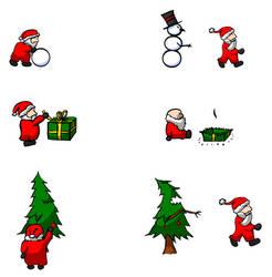 Unlucky Santa comic by RetSamys