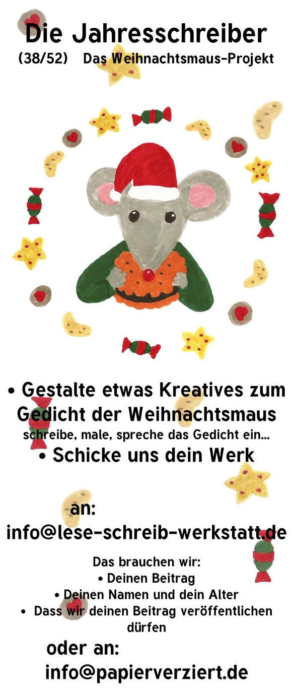 Jahresschreiber (12/12): Weihnachtsmaus-Projekt by RetSamys on
