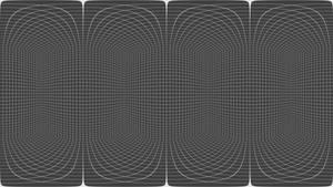 360 degree video template (cube bg)