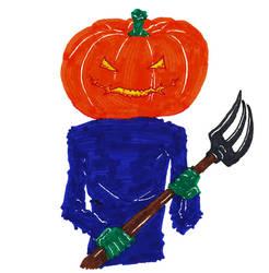 Pumpkin villain by RetSamys