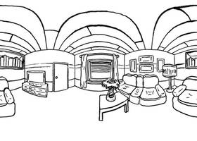 Livingroom (360 pano) by RetSamys