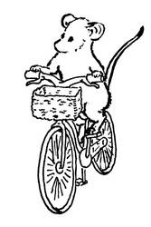 Mousetober 28 - Bicycle