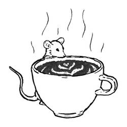 Mousetober 25 - Coffee