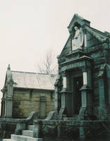 Cemetary Buildings by spicorder-stock