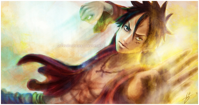 2 Years Later - Luffy by unfinishedtears