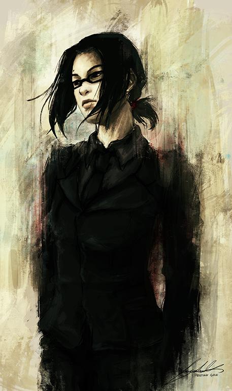 Self Portrait by unfinishedtears